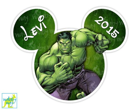 Hulk clipart disney Or as Hulk Printable as