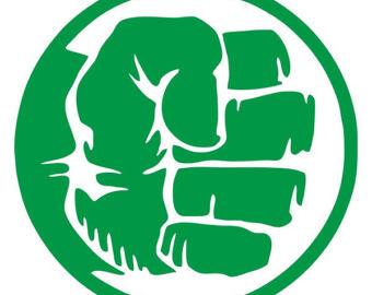 Hulk clipart fist Fist Cross Stitch Etsy Pattern