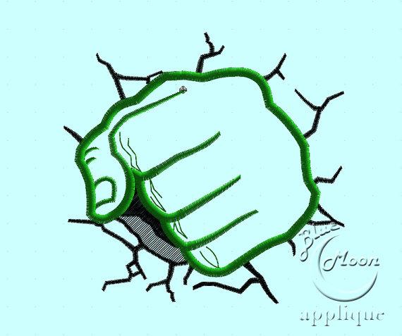 Hulk clipart fist Fist Design for  fist