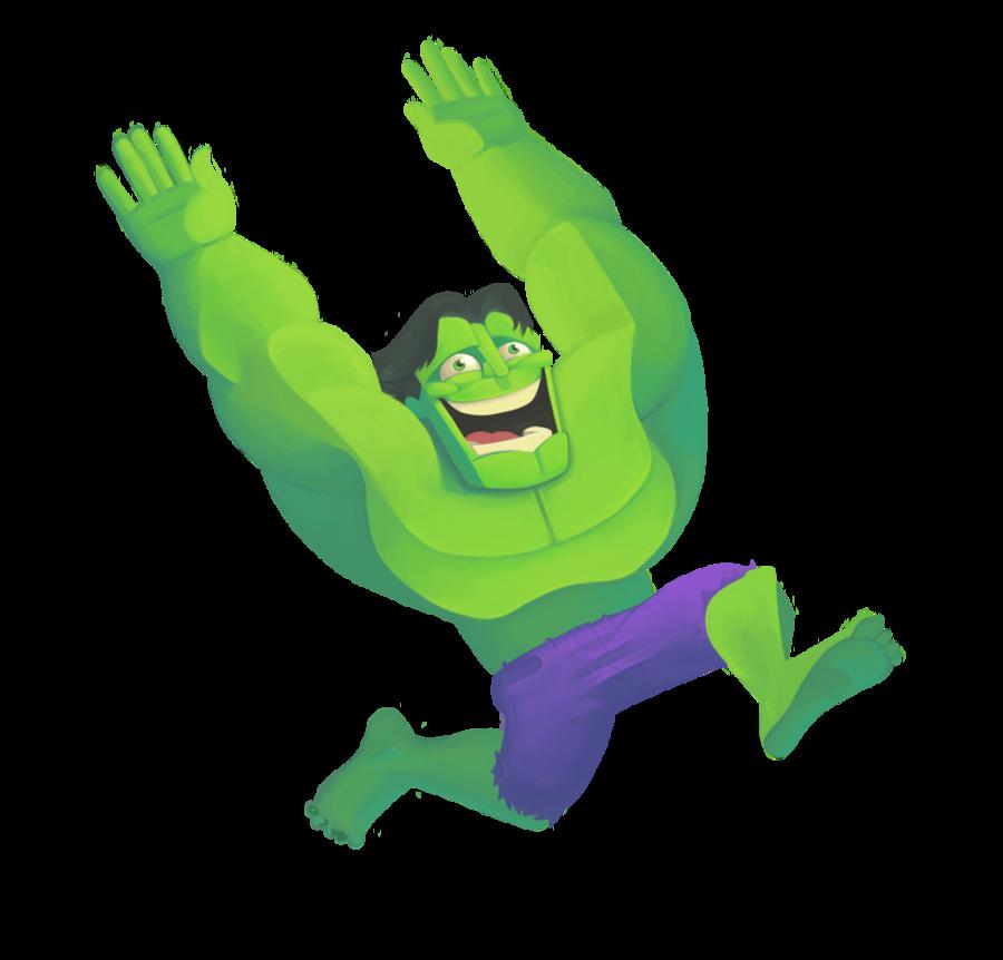Hulk clipart happy #11