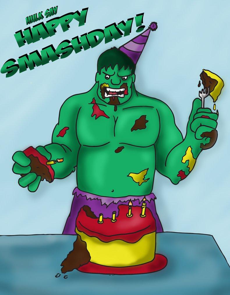 Hulk clipart happy #13