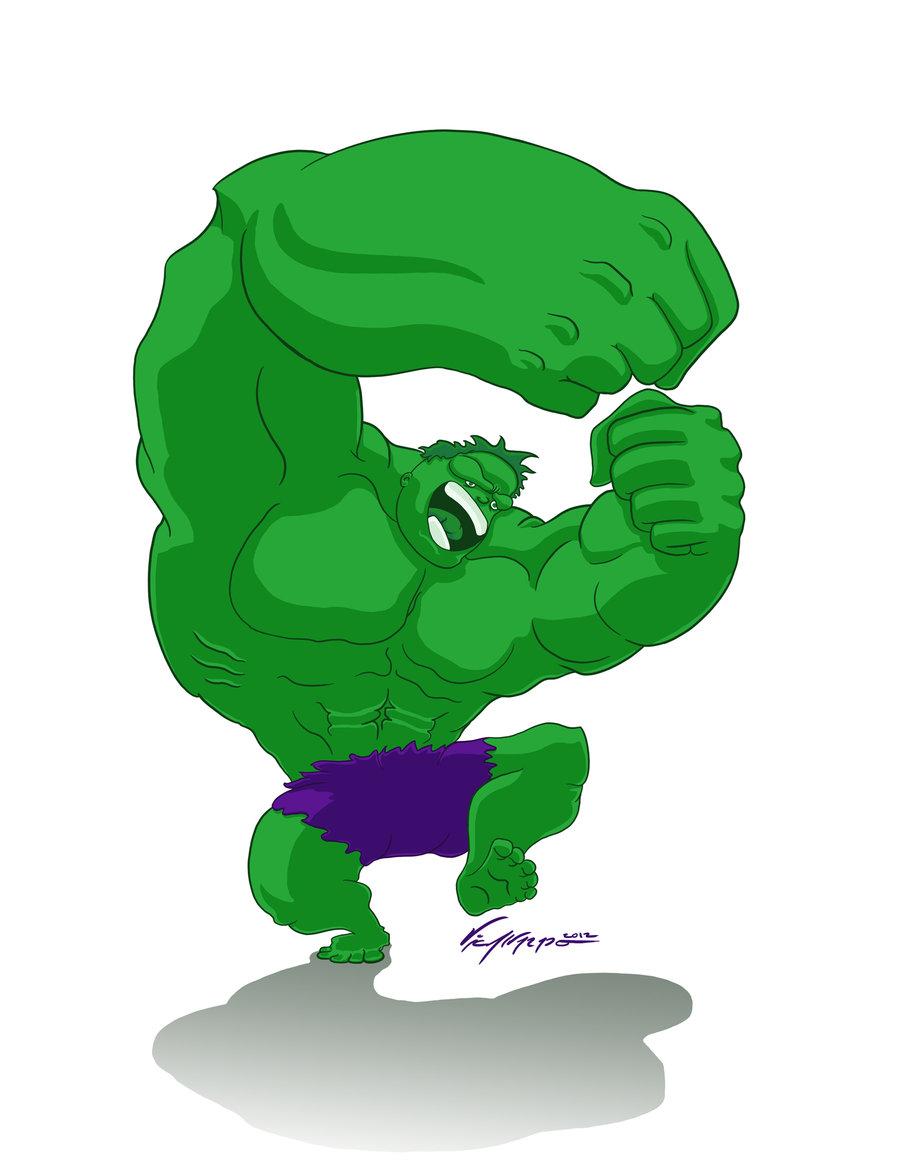 Hulk clipart happy #2