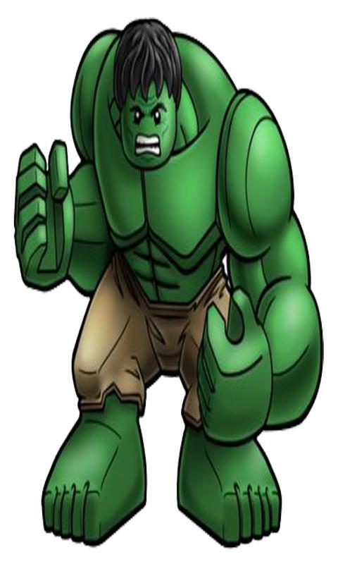 Hulk clipart lego #7