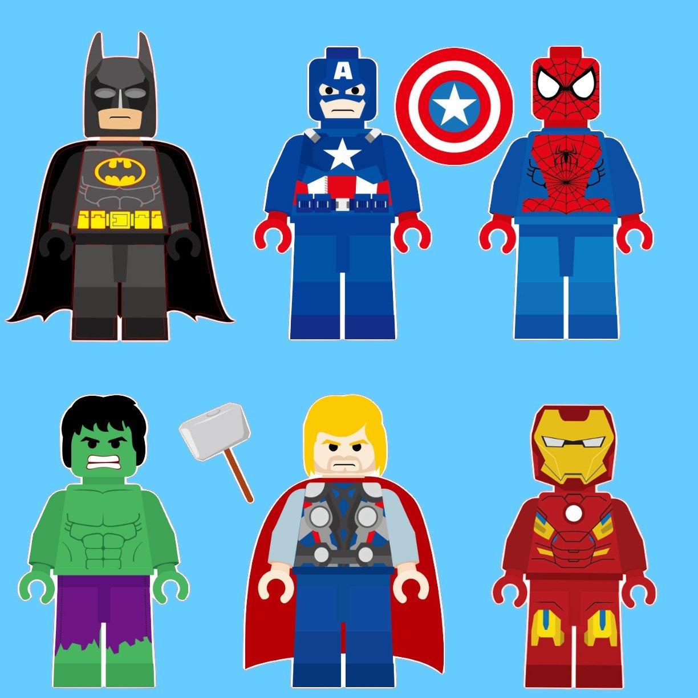 Hulk clipart lego #10
