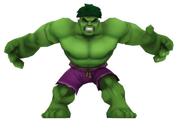 Hulk clipart lego #12