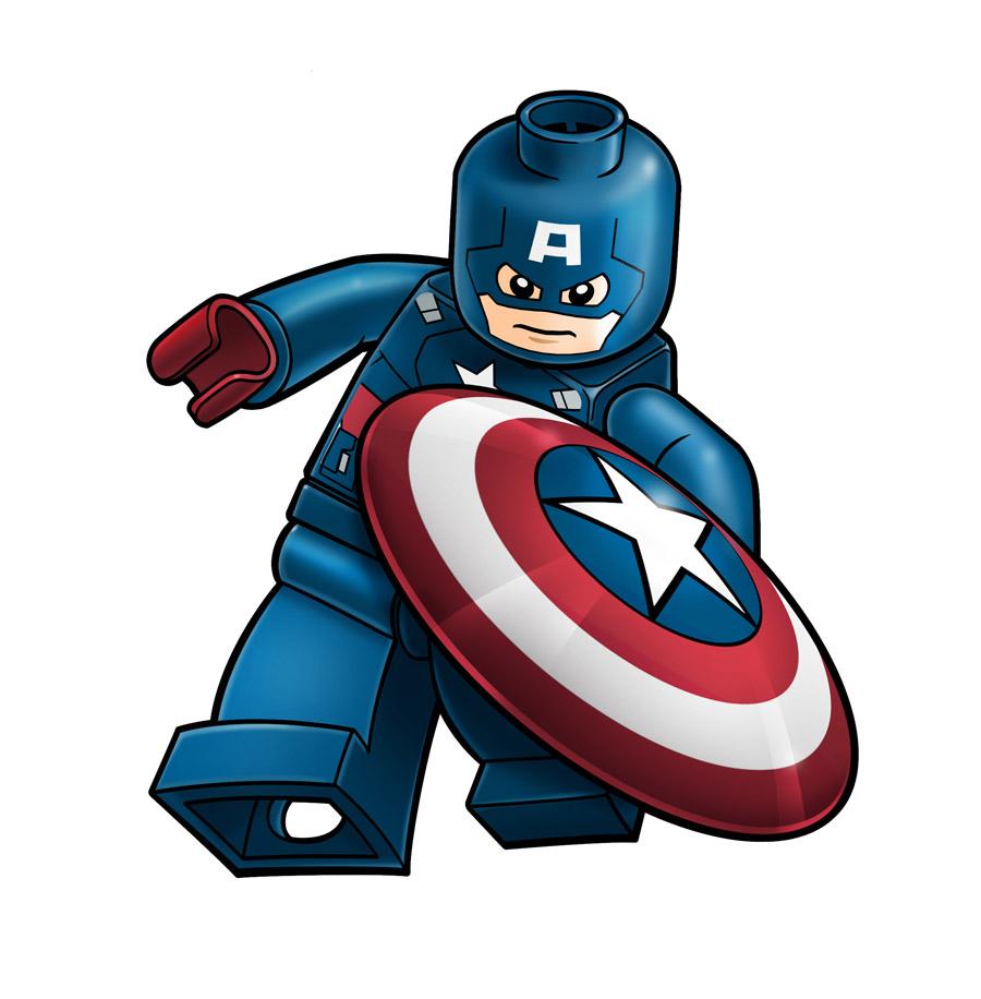 America clipart avenger Avengers *RobKing21 Lego Lego Avengers