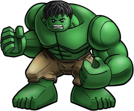 Hulk clipart lego #2