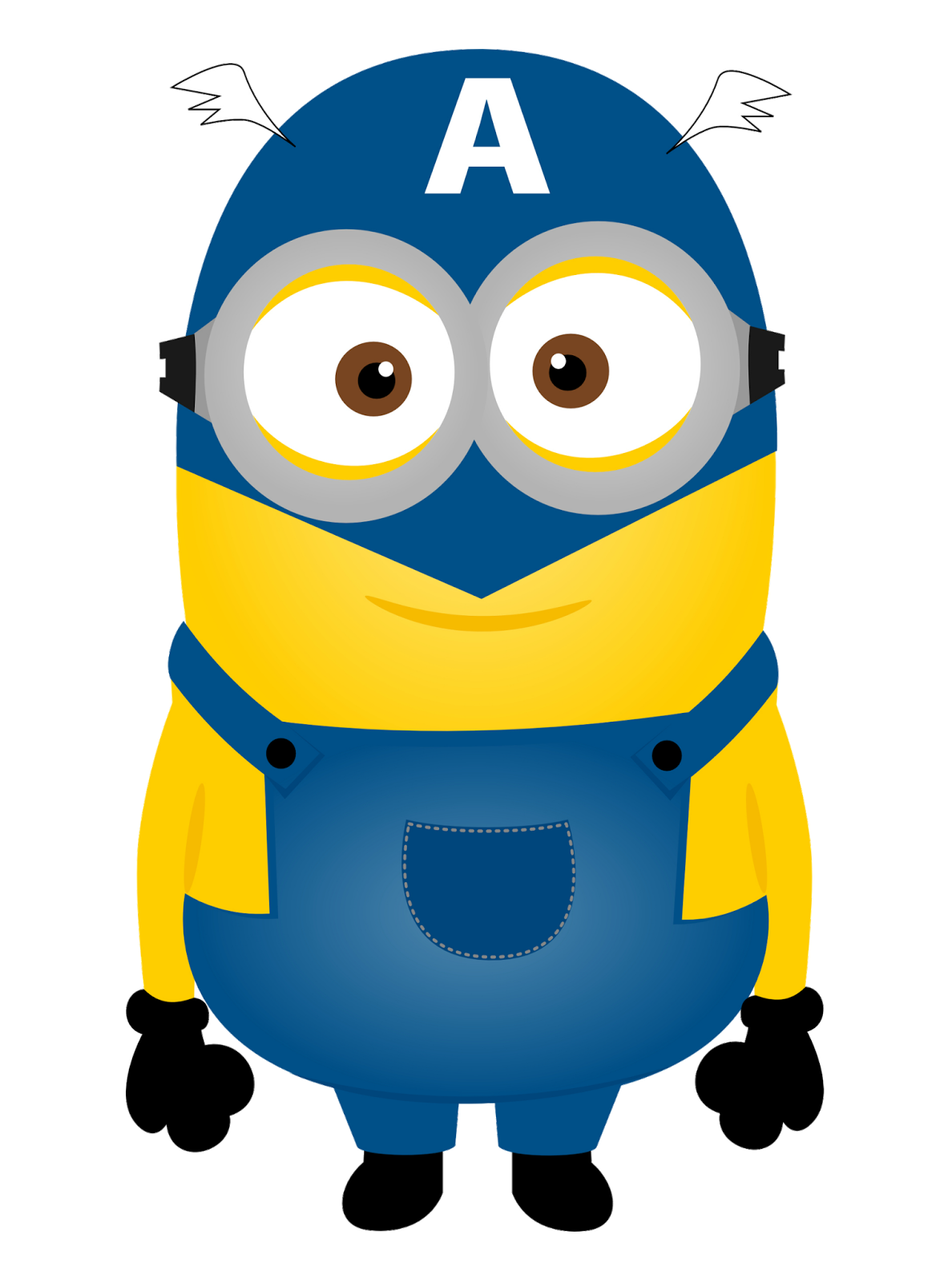 Superman clipart minion Art Oh for My Geeks