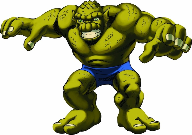 Hulk clipart super hero squad #13