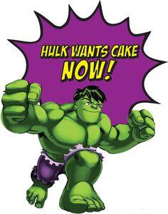 Hulk clipart super hero squad #1