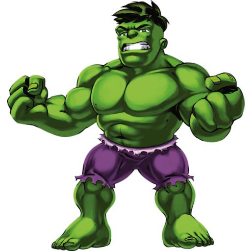 Hulk clipart super hero squad #5