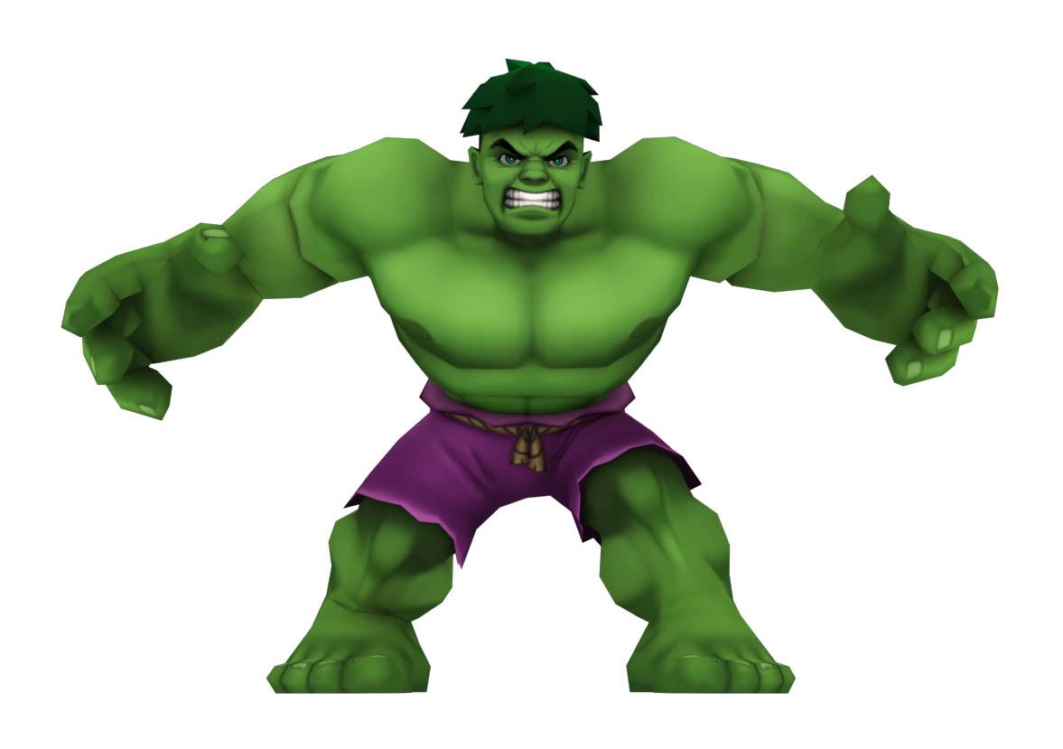 Hulk clipart super hero squad #8