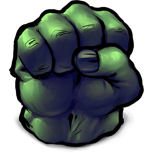 Fist clipart incredible hulk Books superhero a is appears
