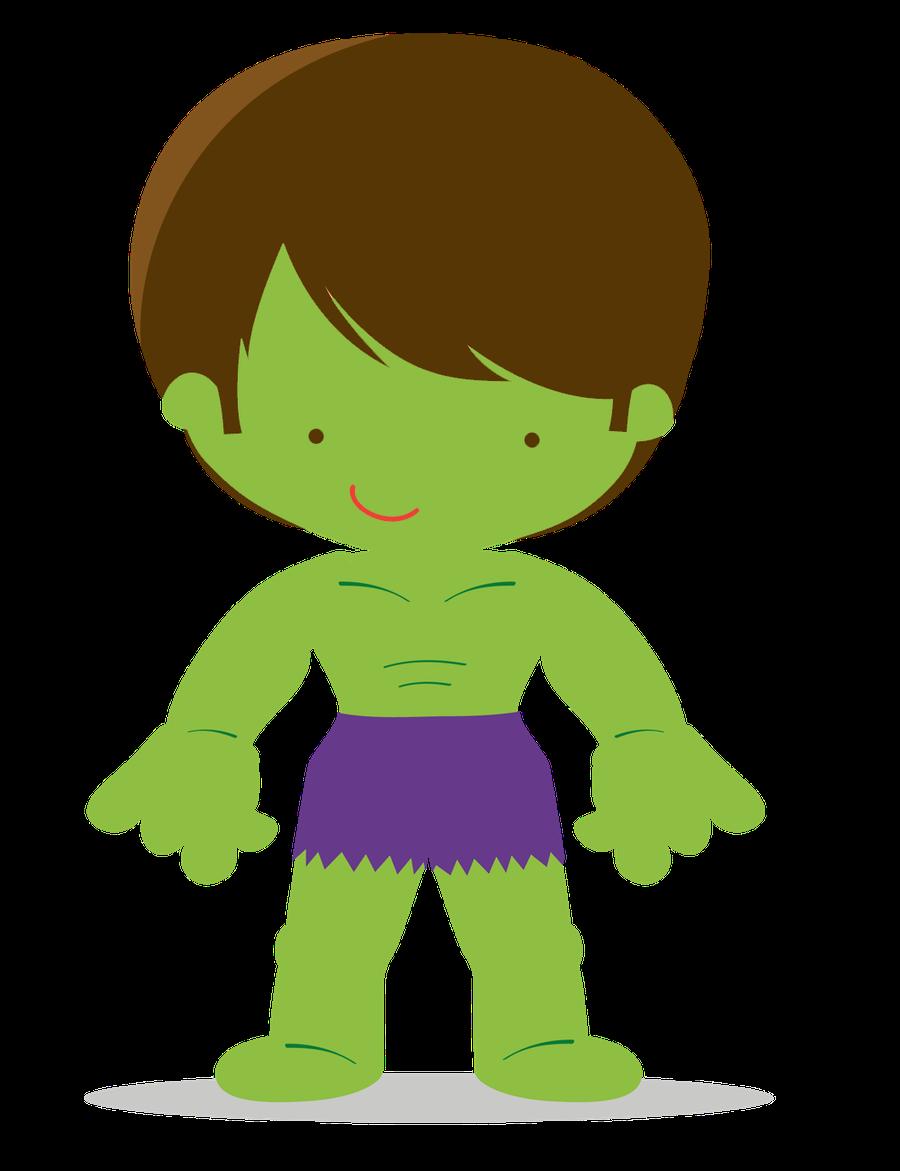 Hulk clipart thor On Superheroes Rocio Superhero MUÑEALMOHADONES