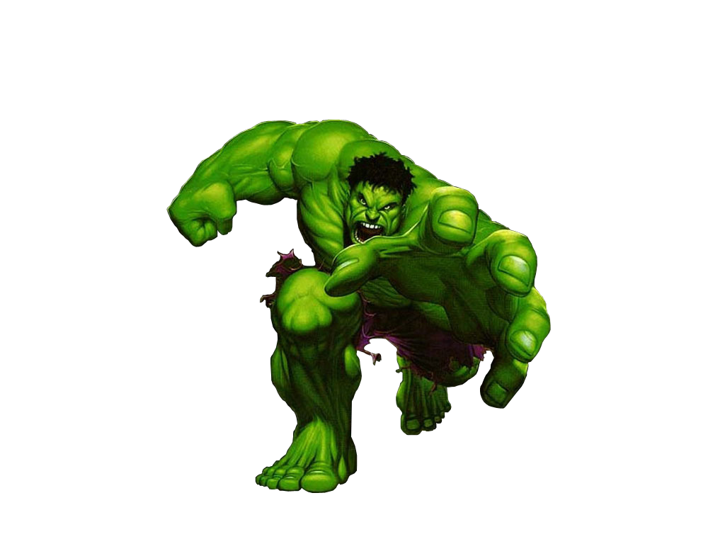 Hulk clipart transparent #9