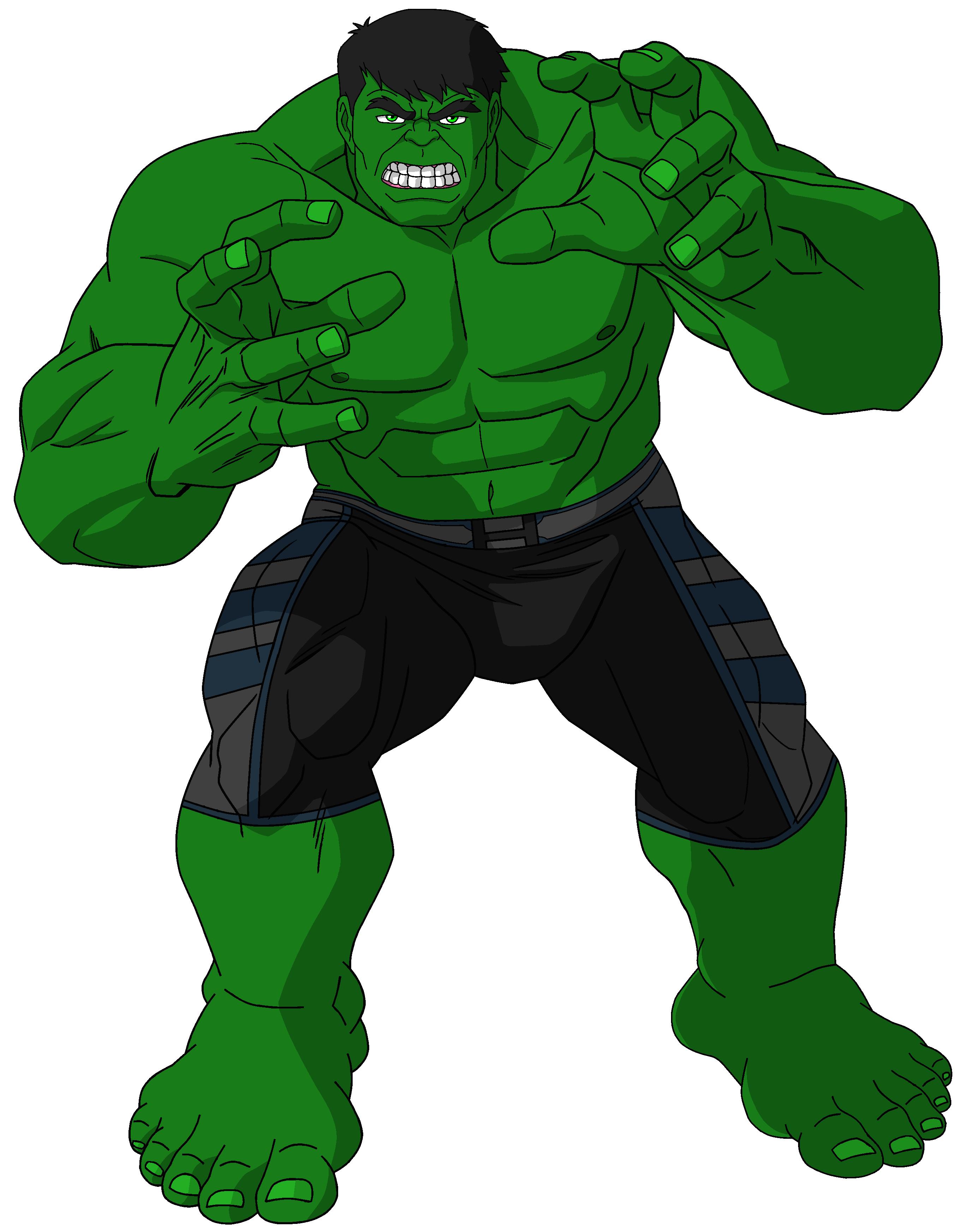 Hulk clipart transparent #8