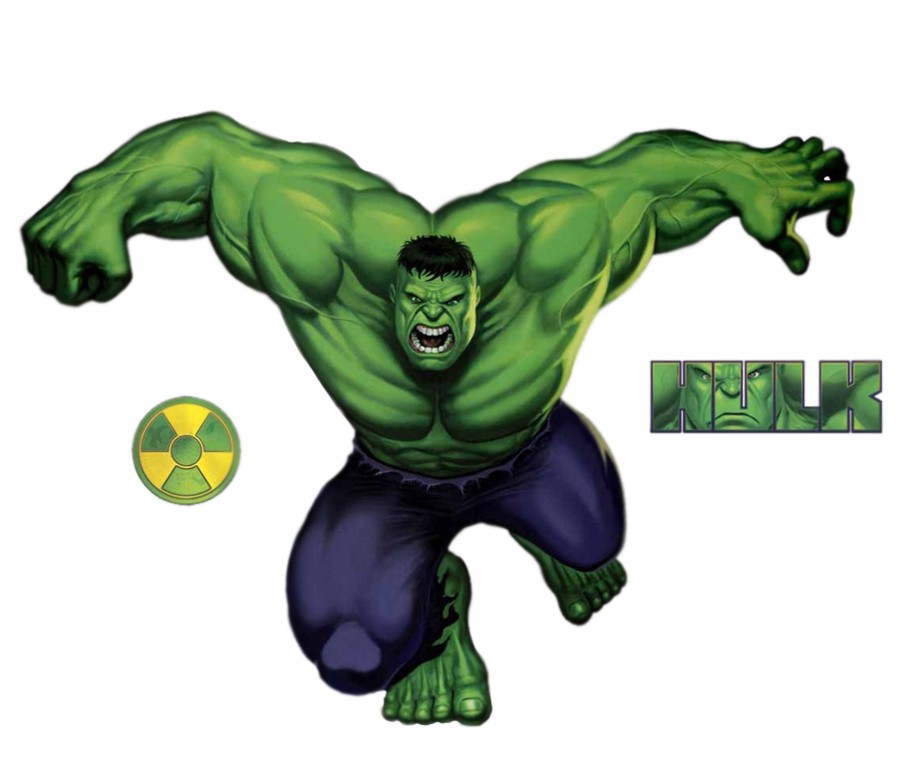 Hulk clipart transparent #7