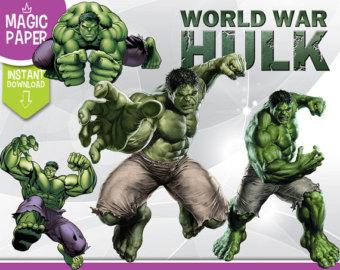 Superman clipart the incredible hulk Digital Photos Clipart 300 Hulk