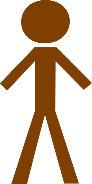 Human clipart This brown Human online at