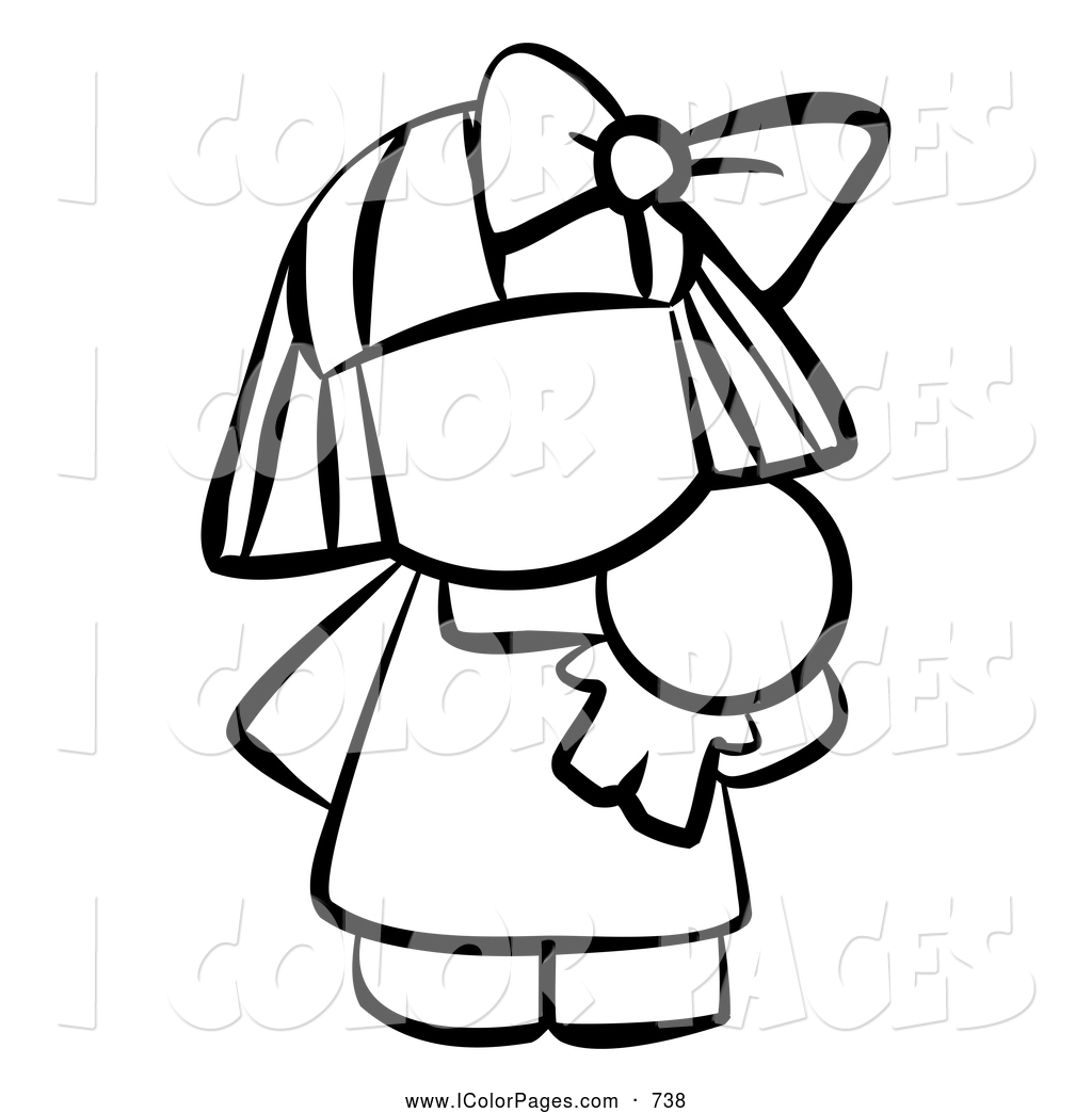 Apple clipart blackand white Clipart Panda And White Doll