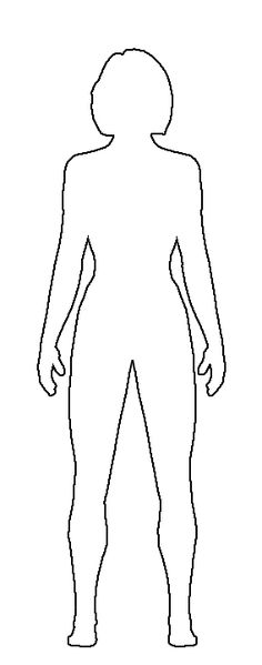 Shoulder clipart body outline Human tons and Pin of