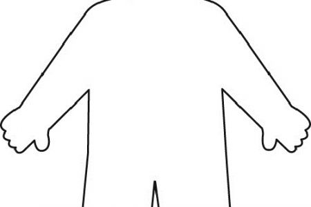 Human clipart body outline Outline Clipartsco Outline Body Clipartsco