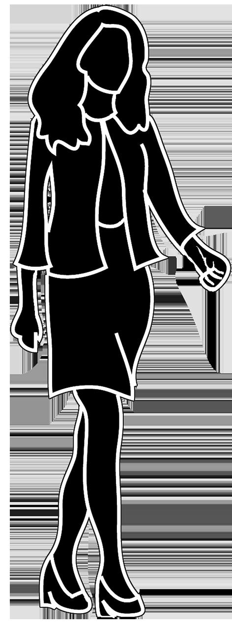 Human clipart female #7