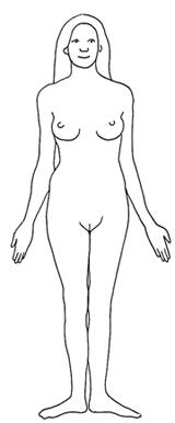 Human clipart female #14