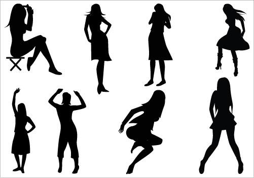 Human clipart female #11