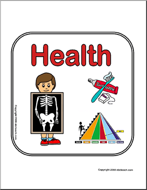 Science clipart health science #1