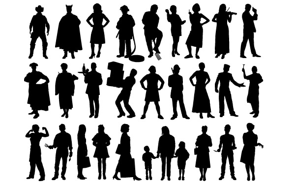 People clipart shadow Com clipart arts People ClipartLogo