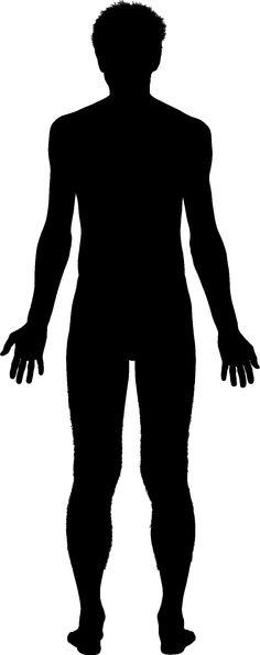 Human clipart human standing #1