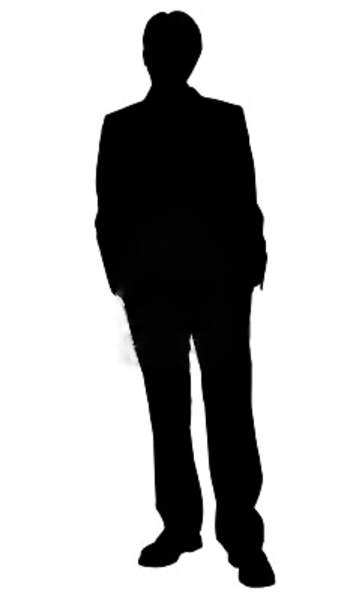 Shaow clipart business person Art Art  Human Silhouette