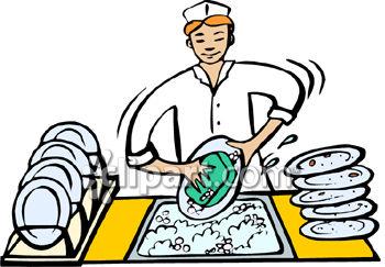 People clipart washing dish Washing human dishes individual person
