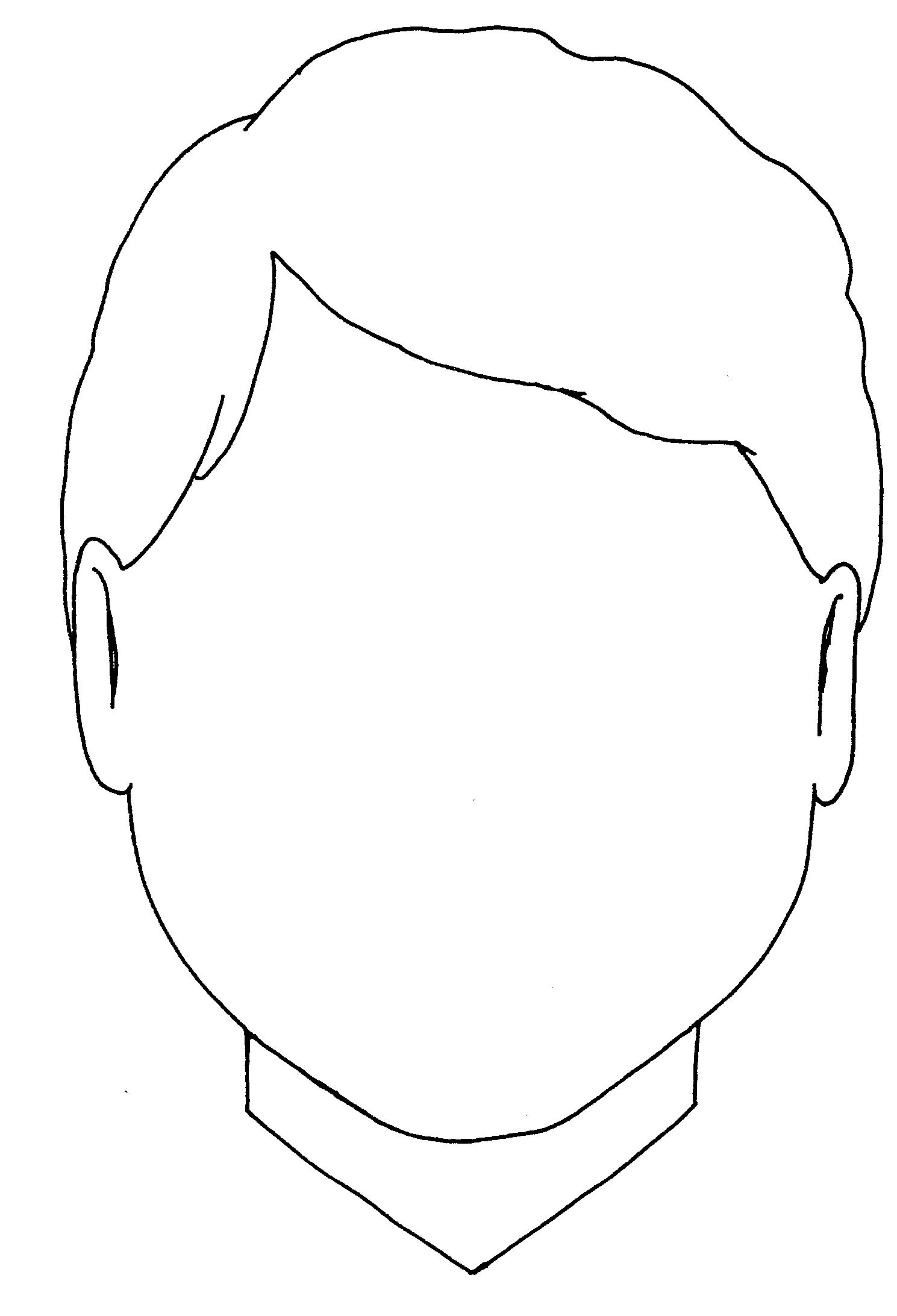Templates  clipart face Free Face Face Art Template
