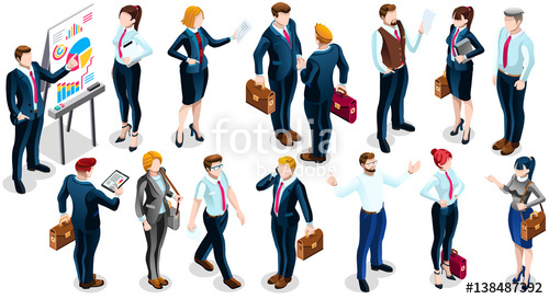 Human clipart meeting person #6