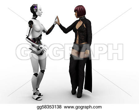 Human clipart meeting person #3
