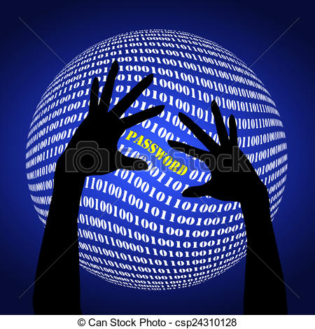 Human clipart password  Fraud Clip Password to