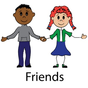 People clipart holding hand  Clipart Panda Stick Free