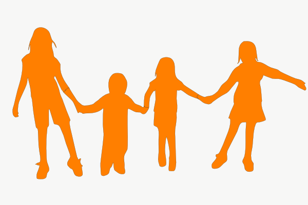 Human clipart person holding hand #6