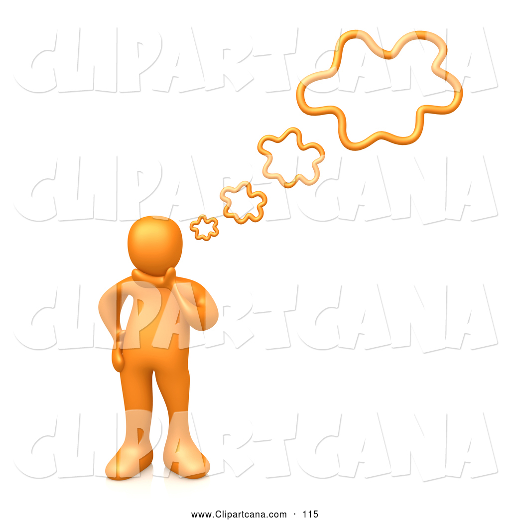 Creative clipart thought Person Panda Clipart Free Thinking