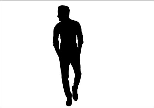 People clipart silhouette Graphics Silhouette Graphics Man Stenciling