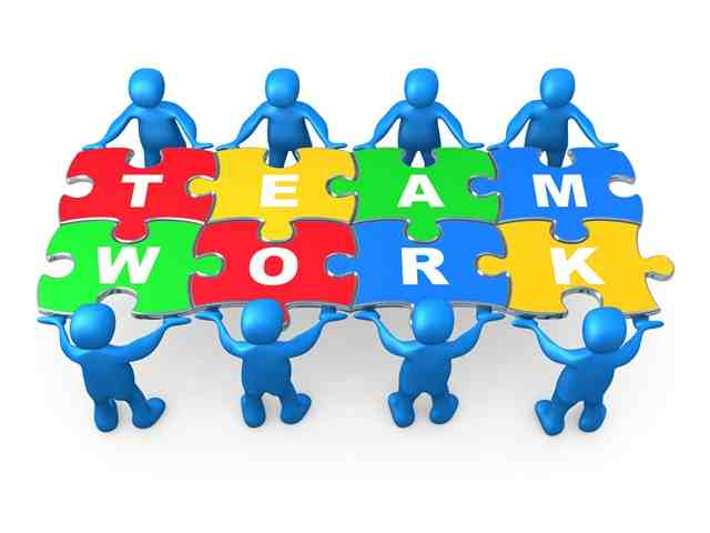 Moving clipart teamwork #5