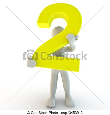 Human clipart yellow Number yellow small yellow holding