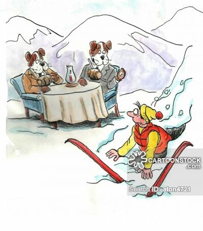 Avalanche clipart  Accident Skiing Accident Accident