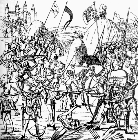 Hundred Years War clipart #14