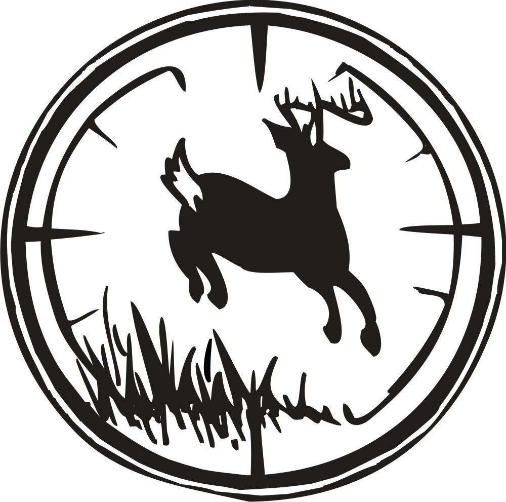 Hunting clipart White Clip Black And Images