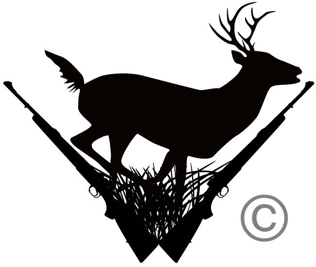 Hunting clipart Clipartix hunting hunting clipart black