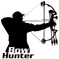Hunting clipart bow hunting #11