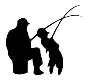 Hunting clipart father and son #4